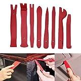 Kit de palanca de plástico para interiores de automoción, kit de herramientas para quitar sujetadores