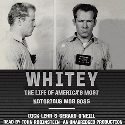 Whitey Audiobook By Dick Lehr,                                                                                        Gerard O'Neill cover art