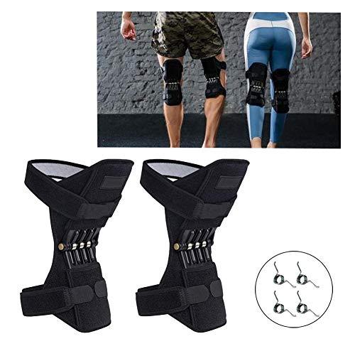 TYH Knee Support Booster, Potente Forza di richiamo della Molla, Cuscinetti di decompressione di Protezione articolare Deep Care per Alpinismo, 1 Paio