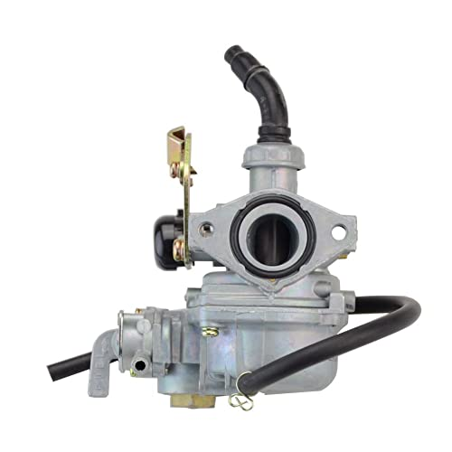 goofit pz19 carburetor with fuel switch for 50cc 90cc 110cc 125cc sunl  roketa chinese atv go