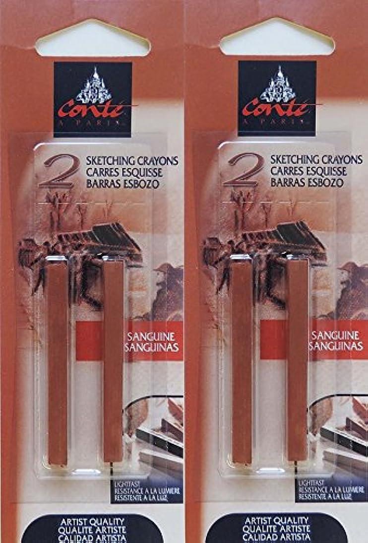 Conté à Paris Sanguine Sketching Crayons, 4 pc Set, Bundle of Artist Quality Crayons guuo115594323860