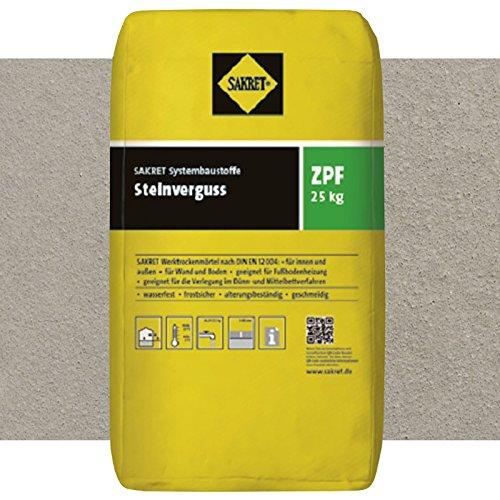 SAKRET Steinverguss ZPF GRAU 25kg wasserundurchlässiger Pflasterfugenmörtel