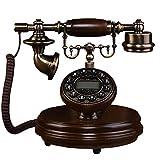 ZARTPMO Teléfono Fijo con Cable con Cable y teléfono Antiguo Retro de la Vendimia para el Ornamento del Escritorio de la Oficina en casa