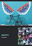 Graffiti Sketchbook: 8,27 x 11,69 Inches | Graffiti Sketchbook with 108 empty Pages for Sprayer for self-design | Perfect Gift for an Artist | (v. 4)