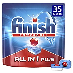 Finish Todo en 1 Max Regular Pastillas para Lavavajillas 52 pastillas