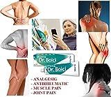 DR. BOICI CREMA 60g - DOLOR REUMATICO, MUSCULAR Y CONJUNTO; FAST RELIEF de dolor muscular y...
