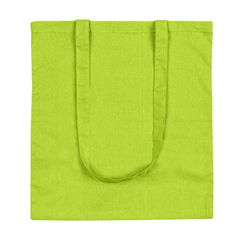 eBuyGB Pack van 10 Cotton Shopping Tote Bags strandtas, 42 cm