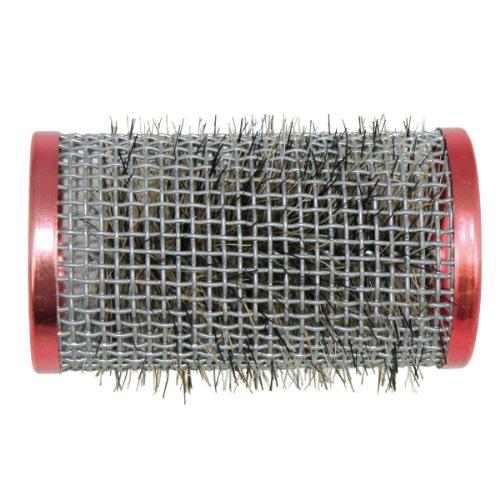 Hairforce Drahtwickler mit Borste 36 mm 12 Stück Drahtwickler rot ø 36 mm