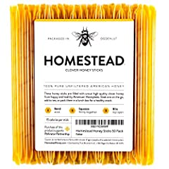 ✔ 100% HONEY -- The only ingredient in here is just honey! No additives, fillers, or preservatives! ✔ EASY TO USE -- Kids and adults alike love opening these up. Great as a gift, adding to a warm beverage, or traveling ✔ HEALTHY -- A whole food snack...
