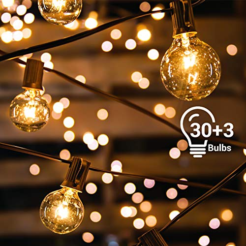 Guirlande Guinguette Extérieure Avoalre® 10m 30 Ampoules Guirlande Lumineuse Interieur Guirlande...