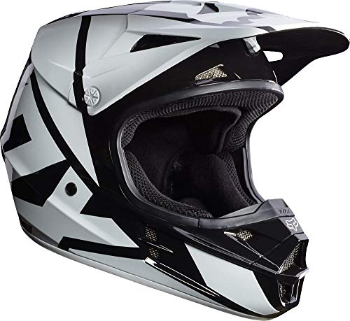Casco Mx Fox 2017 V1 Race Negro (L ,...