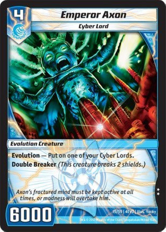 Kaijudo TCG - Emperor Axon (15) - Evo Fury by Kaijudo  Rise of the Duel Masters B01C6O9D50 Spielzeugwelt, spielen Sie Ihre eigene Welt     | Verkauf Online-Shop