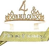 4th Birthday,4 Year Old Girl Birthday...