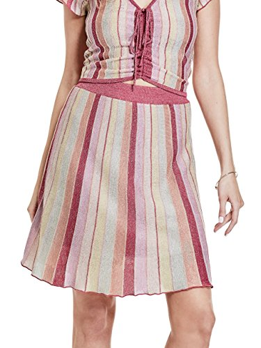 Guess | Izzy Flared A-Line Rock | Ballerina Multi | XS