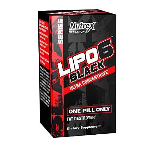 NUTREX LIPO-6 BLACK ULTRA CONCENTRADED (60 CAPS)