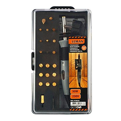 Leman PYR030 brandschildset (30 W) Oranje