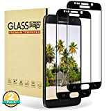 RIIMUHIR Protector de Pantalla para Samsung Galaxy S6 Edge, [2 Piezas] Cristal Templado para Samsung Galaxy S6 Edge, Vidrio Templado, [3D Cobertura Completa] [Sin Burbujas] [Anti-Rasguños]