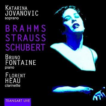 Brahms, Strauss, Schubert