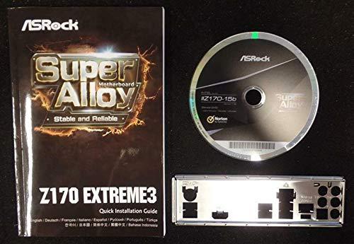 ASRock Z170 Extreme 3 - Handbuch - Blende - Treiber CD
