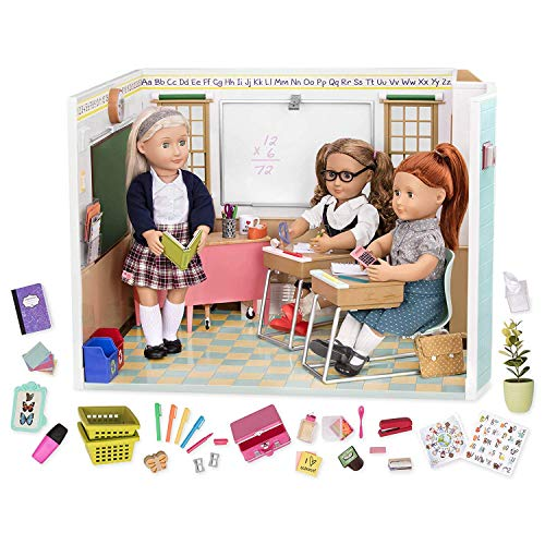 Our Generation Awesome Academy School Set - 76 Piece Set, Compatible with 18' Dolls