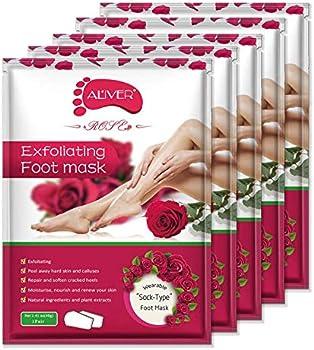 5-Pack Murara Exfoliating Callus Peel Booties Mask