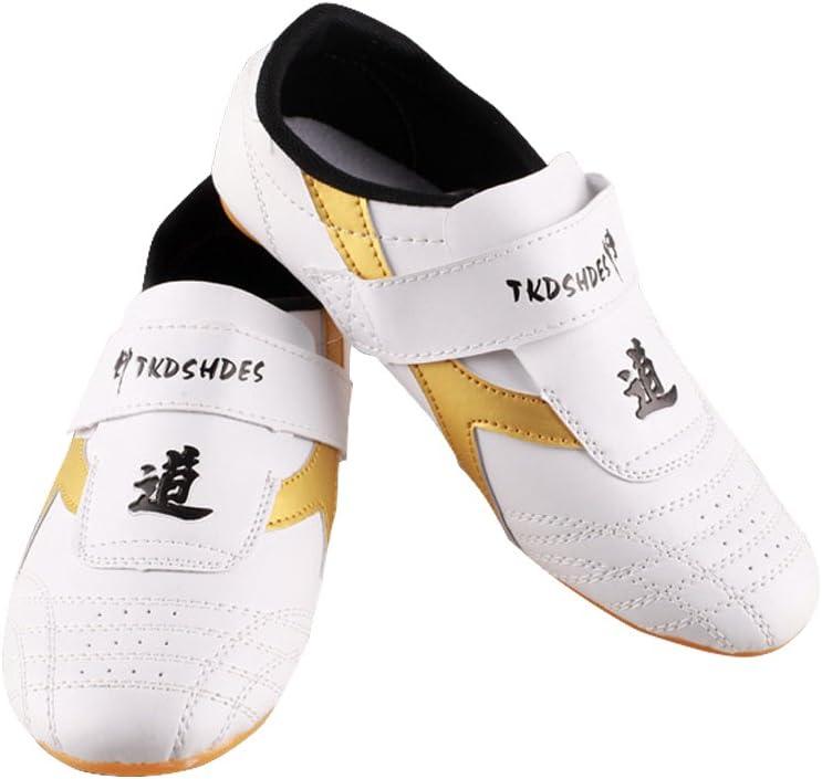 VGEBY Zapatillas de Taekwondo Cómodos Antideslizantes Zapatillas Deportivos de Taekwondo Kung Fu Tai Chi
