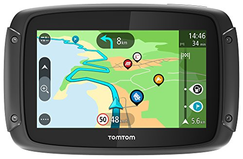 TomTom Rider 50 - GPS Moto - Cartographie Europe 23 pays, 3...