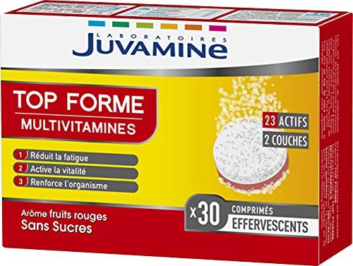 Juvamine Top Forme Multivitamines, 30 Comprimés Effervescents