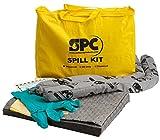 Brady SPC SKA-PP Allwik Universal Economy Portable Spill Kit - 107795, Yellow...