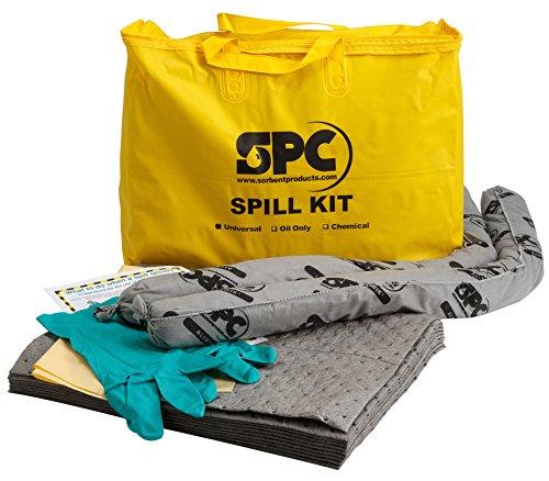 Brady SPC SKA-PP Allwik Universal Economy Portable Spill Kit - 107795, Yellow
