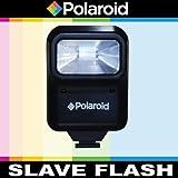 Polaroid Studio Series Pro Slave Flash Includes Mounting Bracket For The Nikon 1 J1, J2, J3, V1, V2, V3, S1, D40, D40x, D50, D60, D70, D80, D90, D100, D200, D300, D3, D3S, D700, D3000, D5000, D3100, D3200, D3300, D7000, D5100, D4, D4s, D800, D800E, D600, D610, D7100, D5200, D5300 Digital SLR Cameras