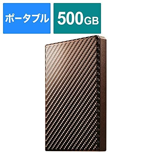I-ODATAUSB3.1Gen1対応ポータブルハードディスク「高速カクうす」ブリックブラウン500GBHDPT-UTS500BR