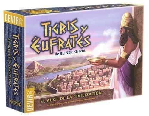 Devir - Tigris y Éufrates, Juego de Mesa (221466)