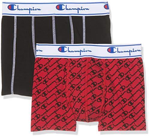 Champion Coton Mix X2 Boxershorts voor heren, verpakt per 2 stuks