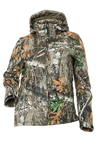 DSG Outerwear Women's Ella Hunting Jacket with Realtree Camo Edge (2XL)