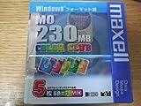 日立マクセル マクセル 230 MB MO カラーミックス windowsフォーマット 5枚組