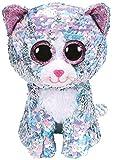 Ty – Flippables – Peluche de Lentejuelas Brillante Whimsy le Gato