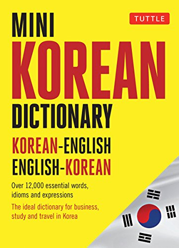 Mini Korean Dictionary: Korean-English English-Korean (Tuttle Mini Dictionary)
