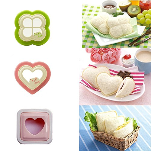 BeatlGem Sandwich Cutter, DIY Ausstecher Sandwich Toast Brotform Maker