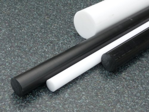 Rundstab aus PA 6 schwarz Ø 80 mm, Lang 1000 mm Kunststoffrundstab alt-intech®