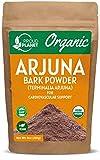 Organic Arjuna Bark Powder | Terminalia Arjuna | Ayurvedic Heart Health* Powder | USDA Certified by Proud Planet (8 Ounce | 227gm)