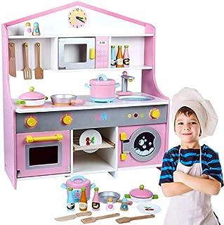 مجموعة لعب ملحقات المطبخ للأطفال مكونة من أدوات مطبخ وأطعمة للعب الأدوار بنمط ياباني تعد هدية مثالية للفتيات والأولاد للعا...