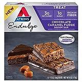 Atkins Endulge Treat Dessert Bar Chocolate Caramel, Fudge, 5 Count