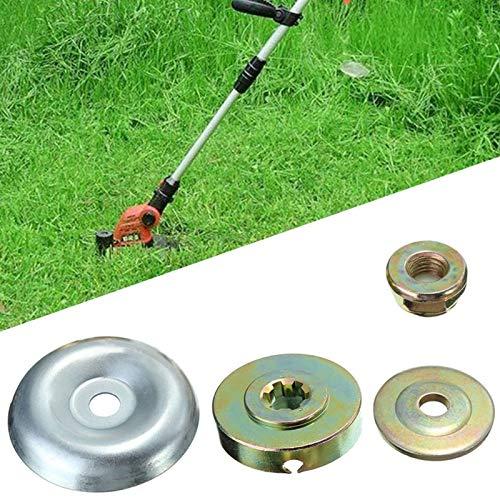 Wegreeco - Kit di fissaggio per dadi per decespugliatore universale M10, kit di fissaggio per tagliaerba e decespugliatore, 4 pezzi