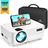 Videoprojecteur, VANKYO 5000 Lumens Projecteur Supporte 1080P Full HD Mini Retroprojecteur Portable Multimédia Home Cinéma Compatible VGA HDMI AV USB