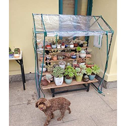 serra Gzhenh All'aperto Giardinaggio Supporto per Piante Antipioggia Tenere Caldo Antigelo Alta capacità Anti UV Portafiori da Giardino Copertura (Color : 3pcs, Size : 130x90x150cm)