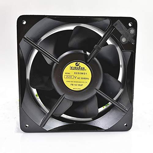 6250MG1 IKURAFAN 220V 160mm Fan - 40W 2800RPM 16016055 All Metal Fan