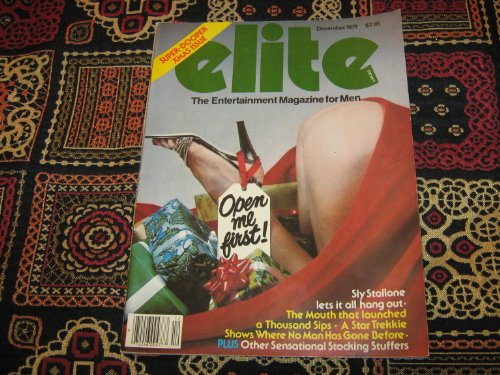 Elite Adult Magazine (Sly Stallone Interview , Super-Dooper Xmas Issue, December 1979)