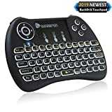 Beastron 2.4G Mini Wireless Keyboard with Touchpad&QWERTY Keyboard, Backlit...
