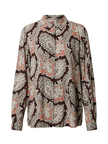 SOYACONCEPT Damen Bluse Lucinda 2 kastanienbraun M
